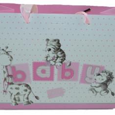 Punga pentru cadouri-Meidi Baby Girl PCM14-R, Roz