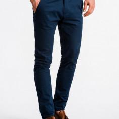 Pantaloni premium, casual, barbati - P830-albastru
