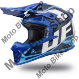MBS Casca motocross Ufo Plast Intrepid, albastru deschis/negru, L, Cod Produs: HE136L