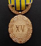 Medalie In serviciul patriei XV