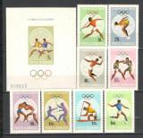 Romania.1968 Olimpiada de vara MEXIC  HR.105, Nestampilat