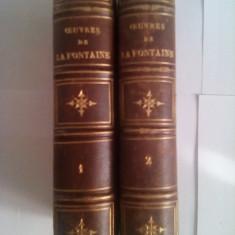 La Fontaine - oeuvres completes - L. Hachette - Paris - 1861