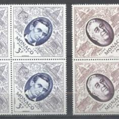 Monaco 1956 Fipex x 4, MNH S.252