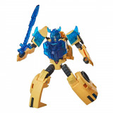 Figurina Transformers Cyberverse Battle Call, Bumblebee, E8373