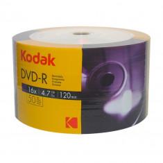 DVD-R Kodak 4.7 Gb, cake 50 bucati