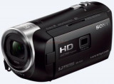 Camera video Sony Handycam HDR-PJ410B cu proiector incorporat, Full HD (Neagra)