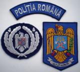5.478 ROMANIA LOT 2 ECUSOANE+1 EMBLEMA SAPCA POLITIA ROMANA LEX ET HONORA
