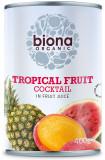 Cumpara ieftin Cocktail de fructe tropicale bio 400g
