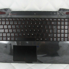 Carcasa superioara cu tastatura iluminata palmrest Lenovo Ideapad Y50-70 SH