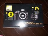 Vand kit aparat foto Nikon D5100