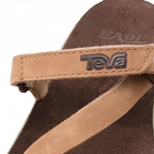 Papuci Femei casual Piele Teva Elzada Slide Leather