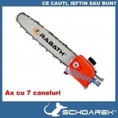 Dispozitiv drujba pentru motocoasa lama motocositoare pt. taiat crengi - RABATH™