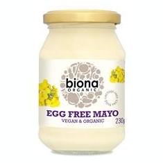 Maioneza Fara Ou Bio Biona 230gr Cod: 5032722315358