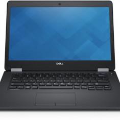 Laptop Dell Latitude E5470, Intel Core i3 Gen 6 6100U 2.9 GHz, 8 GB DDR4, 128 GB SSD M.2, WI-FI, WebCam, 3G, Bluetooth, Tastatura Iluminata, Display