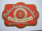 Eticheta de bere DREHER HAGGENMACHER Oradea, anii 1930