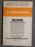 """Rodica Pandele (ed) V. Voiculescu interpretat de:... (col. """"Biblioteca critică"""")"""