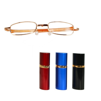 Ochelari pliabili unisex pentru citit, cu toc foto