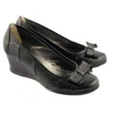 Pantofi dama casual din piele naturala P1761N