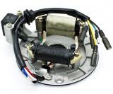 MAGNETOU ATV 50 70 110 125cc cu Semering Stator Aprindere 2 bobine Atv