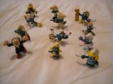 Strumfi, smurfs - 12 figurine medii strumf din cauciuc - set 2