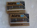 Lot 2 Casete Audio AGFA Superchrom HDX 90+6 min - NOI Sigilate