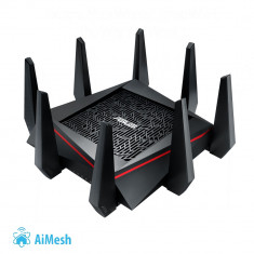 Router Wireless ASUS RT-AC5300, Tri-band Gigabit Router, AiMesh