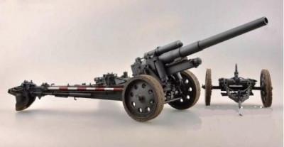 1:16 German 15cm sFH 18 Howitzer - Model Kit 1:16 foto
