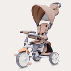 Tricicleta cu sezut reversibil Coccolle Evo Bej 2019