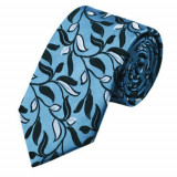 Cumpara ieftin Model 14 - cravata matase 100% + cutie cadou