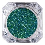 Cumpara ieftin Sclipici Glitter Unghii Pulbere LUXORISE, Green Glow #54