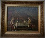Tablou autentic Rudnay Gyula, Scene gen, Ulei, Altul