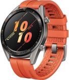 Smartwatch Huawei Watch GT, AMOLED 1.39inch, 8MB RAM, 128MB Flash, Bluetooth, Bratara silicon, Android si iOS (Portocaliu)