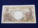 Bancnote România - 2000 lei 1941 - seria N.1202 0422 (starea care se vede)
