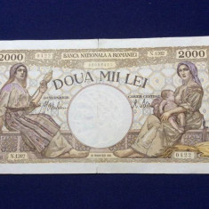 BANCNOTE ROMANIA - 2.000 LEI 18 NOENVRIE1941 - SERIA N.1202 0422