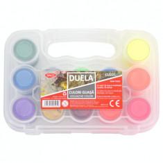 Culori guasa 20ml 6 neon + 6 metalice Duela DACO
