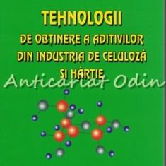 Tehnologii De Obtinere A Aditivilor Din Industria De Celuloza Si Hartie