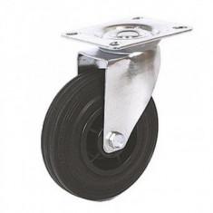 Roata pivotanta pentru carucioare Strend Pro Renost, 100x27mm, max 60Kg