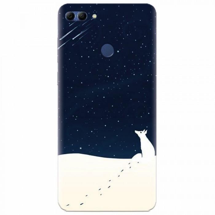 Husa silicon pentru Huawei Y9 2018, Winter Night