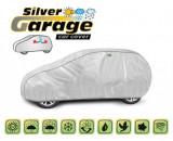 Prelata auto, husa exterioara Smart Forfour impermeabila in exterior anti-zgariere in interior lungime 355-380cm, M1 Hatchback model Silver Garage