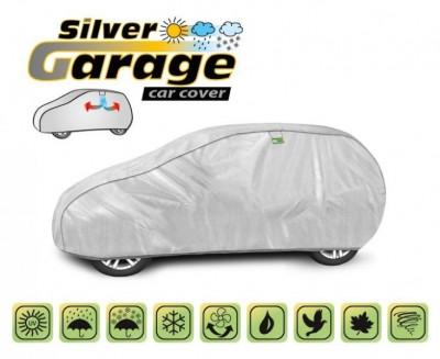 Prelata auto, husa exterioara Smart Forfour impermeabila in exterior anti-zgariere in interior lungime 355-380cm, M1 Hatchback model Silver Garage foto