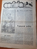 ziarul corida anul 1,nr.2 din mai 1990-interviu victor rebengiuc