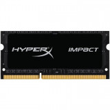Memorie notebook HyperX Impact Black, SODIMM, DDR4, 8GB, 2666MHz, CL15, Kingston