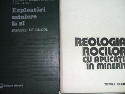 REOLOGIA ROCILOR CU APLICATII IN MINERIT A TODORESCU foto