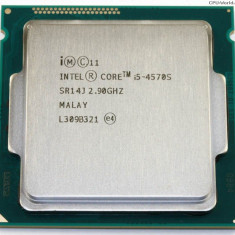 Procesor Intel Haswell, Core i5 4570 2.90GHz/ turbo 3.6Ghz, socket 1150,cooler