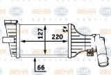 Radiator intercooler OPEL ASTRA G Combi (F35) (1998 - 2009) HELLA 8ML 376 723-181