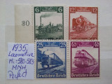 1935-Locomotive-Complet set -MNH-Perfect