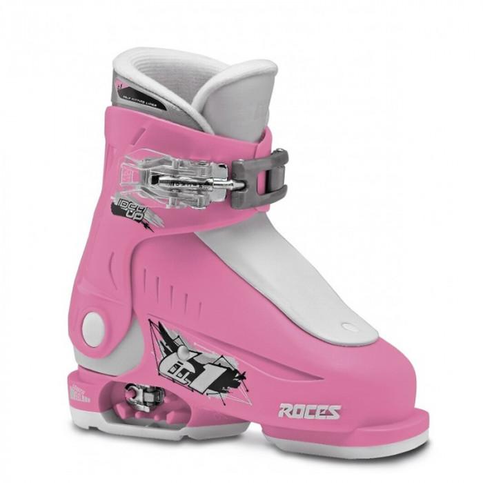Clapari reglabili copii Roces Idea Up Deep Pink/White 1 clapa