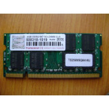 MEMORIE LAPTOP Transcend 2GB DDR2 DDR2 667 (PC2 5300)