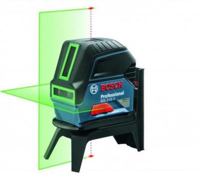 Bosch GCL 2-15G + RM1 Nivela laser cu puncte si linii, 15m, precizie 0.3 mm/m foto