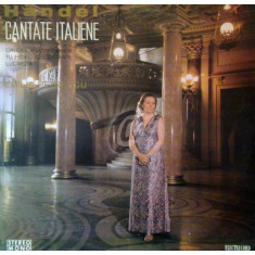 Georg-Friedrich Handel - Cantate italiene (Vinil)